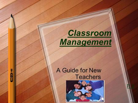 Classroom Management A Guide for New Teachers P. 2.
