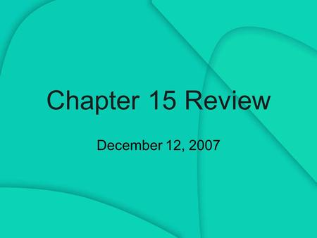 Chapter 15 Review December 12, 2007. 1) What is a subliminal message? How does it differ from a supraliminal message? Give examples of subliminal messages.