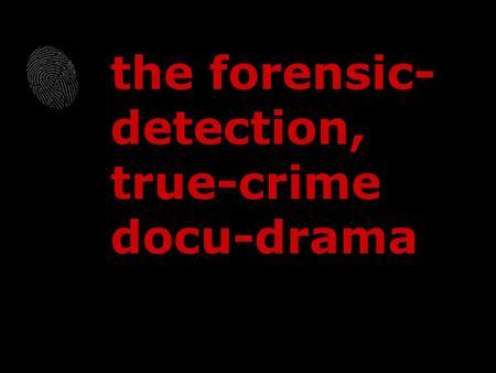 History of tv crime drama / Crime drama mystery movies
