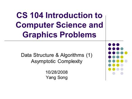 overview of data structures and algorithms computer science essay Computer science (networks) - bsc (hons)  the university of kent's statement of findings can be found here  • dynamic data structures:.