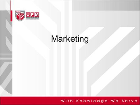 Marketing. Marketing Principles >> 1.Introduction To Marketing Definitions of marketing Implications of marketing The marketing concept The marketing.