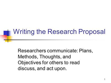 Phd research proposal in communication