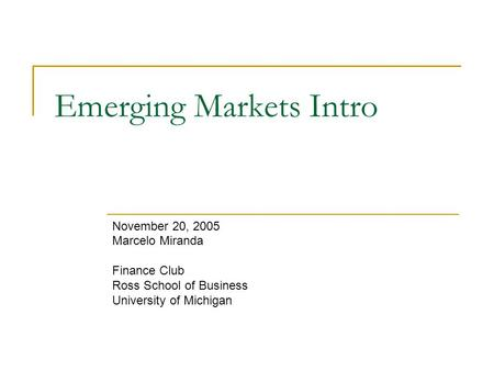 an introduction to the big emerging markets bem International marketing final study play which of the following is a fully industrialized country which of the following countries is considered as a bem (big emerging market) mexico what is happening in bems today is analogous to what happened in.