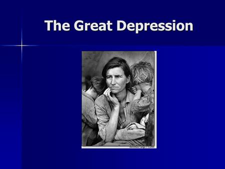 The Great Depression. Trends of the 1920's High wages High wages High production High production High profits High profits Demand for goods Demand for.