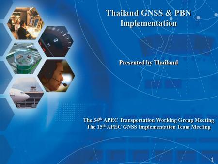 Thailand GNSS & PBN Implementation