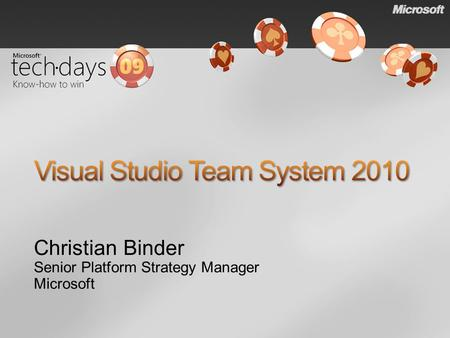 Christian Binder Senior Platform Strategy Manager Microsoft.