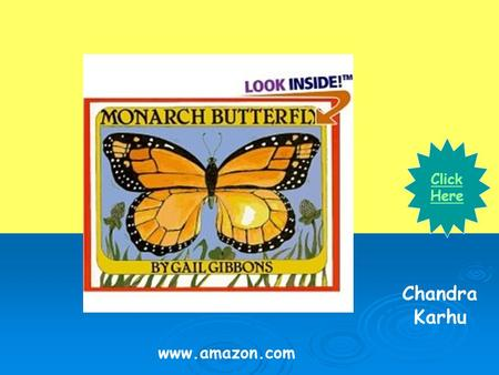 Www.amazon.com Click Here Chandra Karhu. Did you know that butterflies lay eggs just like chickens? What do you get when a butterfly lays an egg? Do you.