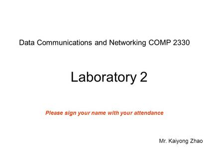 Computer Science - Networking