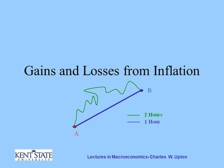 Lectures in Macroeconomics- Charles W. Upton Gains and Losses from Inflation.