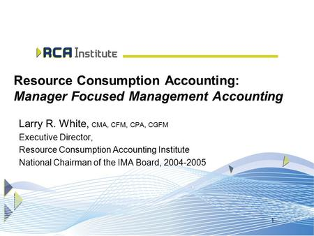 resource consumption accounting View essay - resource consumption accounting from mba kmba-712-1 at university of liverpool resource consumption accounting cost accounting is a branch of accounting.