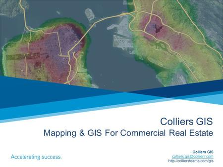 Colliers GIS Mapping & GIS For Commercial Real Estate Colliers GIS
