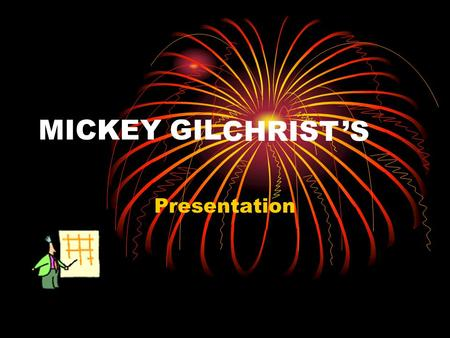 MICKEY GIL Presentation CHRIST 'S. Alternative Passion Plots.