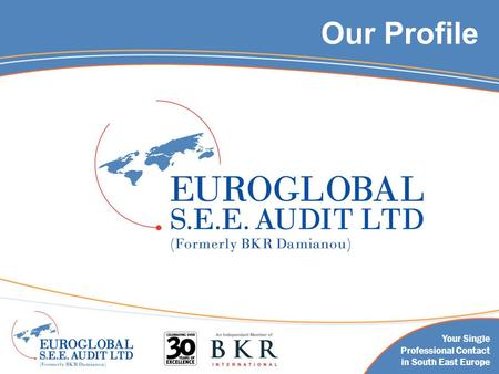 Our Profile Your Single Professional Contact in South East Europe.