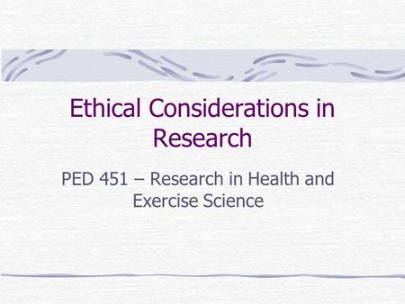 research summary and ethical consideration Primary research involves collecting data about a given ethical considerations in primary research summary: primary research involves collecting data about a.