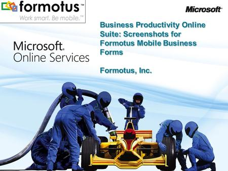 2 Formotus Mobile Business Forms Store and manage your InfoPath forms with SharePoint Online. Formotus can upload forms from SharePoint for deployment.
