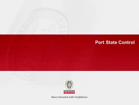 Port State Control. 1 > PSC background and organization.