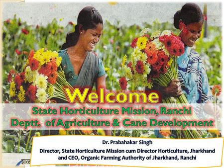 Established as separate state on 15 November, 2000 75% population depend on Agri-horticulture Geographical area - 79,714 sq. km Waste land – 12.42 lakh.