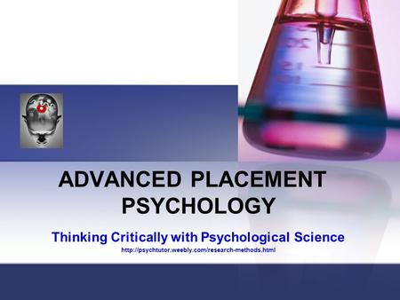 thinking critically with psychological science powerpoint Ap psychology class documents class syllabus ap unit 1 ppt (pdf) ap unit 2 ppt (pdf) chapter 3 and 4 - lifespan development ch 1 - thinking critically with psychological science ch 2 - neuroscience and behavior ch 3 - nature.