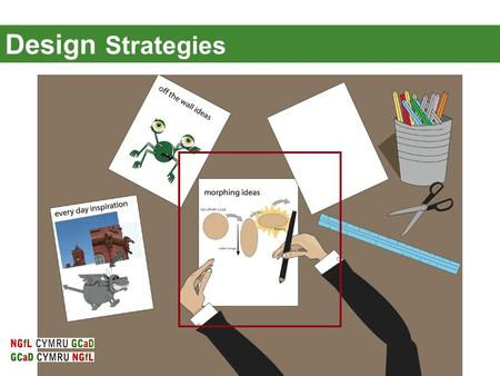 Design Strategies. Design Strategies: Morphing It's not always easy to design. We are going to look at a range of tasks that hopefully will help you in.