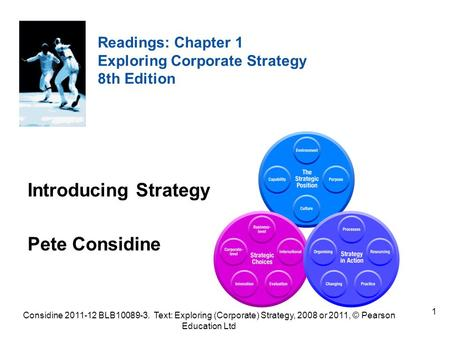 Introducing Strategy Pete Considine Readings: Chapter 1