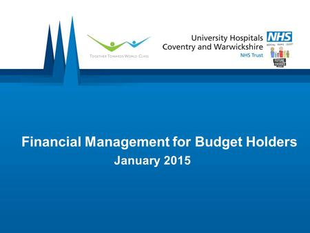 Financial Management for Budget Holders