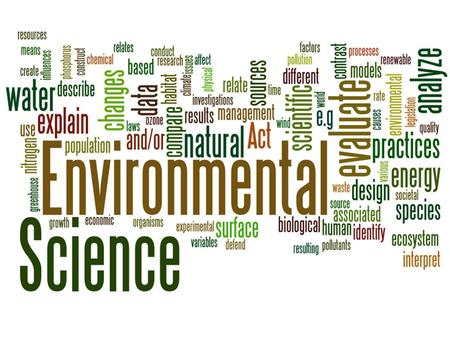 AP Environmental Science Riverbend High School *Start your AP science experience in 9 th grade!* *You can earn college credit, and be on track to take.