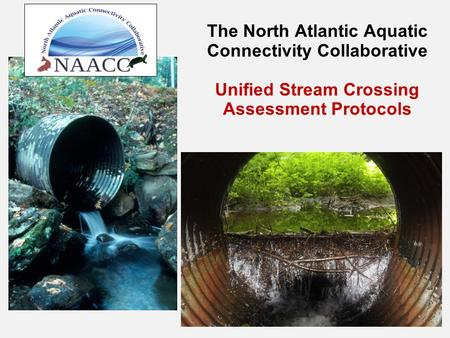 The North Atlantic Aquatic Connectivity Collaborative Unified Stream Crossing Assessment Protocols.