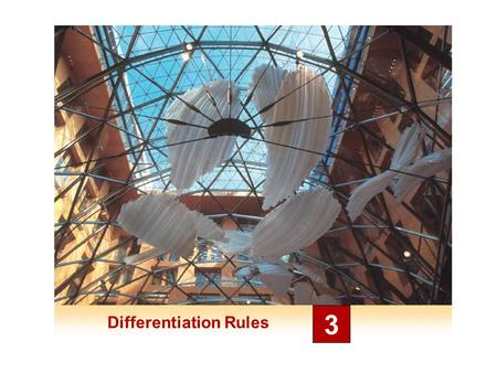 Differentiation Rules 3. Rates of Change in the Natural and Social Sciences 3.8.