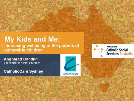 CatholicCare Sydney It's easy to use the official CatholicCare Sydney PowerPoint template. PowerPoint Template CatholicCare Sydney Getting Started Choose.