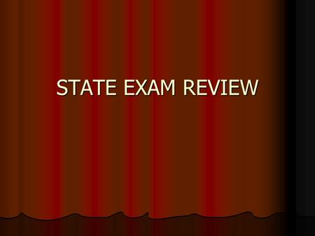 STATE EXAM REVIEW. IF YOUR RESIDENCE CHANGES, WHEN MUST YOU NOTIFY MVC?