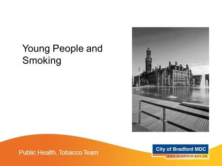 Public Health, Tobacco Team Young People and Smoking.