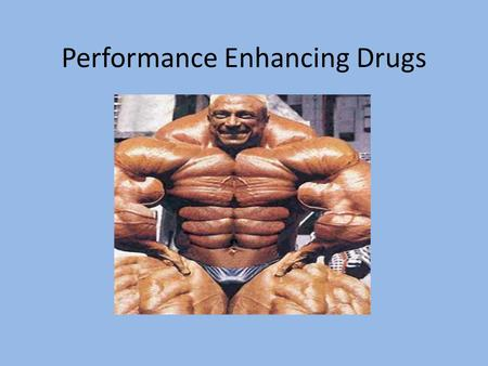 a overview of athletes use of performance enhancing drugs Performance enhancing drugs: the use of performance enhancing drugs going as enhancing drugs first, it lays out a general overview of the history and.
