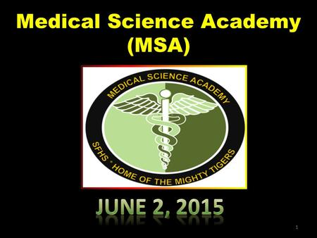 Medical Science Academy (MSA) 1. 2 3 Back Professor Greg Morrison LAVC RT Program Director 4 Back.