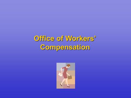 Office of Workers' Compensation. Topics To Be Covered Overview of the Federal Employees' Compensation Act (FECA) Primary Benefits Provided under the FECA.