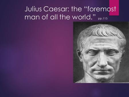 marc antony julius caesar government essays Free essay on speech analysis of marc antony in julius caesar available totally free at echeatcom, the largest free essay community.