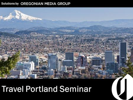 1 Solutions by Travel Portland Seminar. 2 Winning with Marketing Strategies to Help Your Business Grow Who is Josh Frickle? Majors/National Account Executive:
