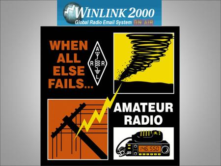 Ham Radio And The Winlink 2000 Digital Communications System WL2K.