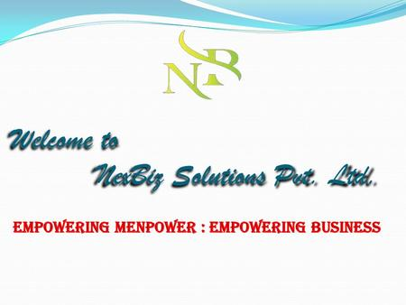 Welcome to NexBiz Solutions Pvt. Ltd. May be you are tired of your Job? May be you can't see yourself getting ahead with your current income? May be.