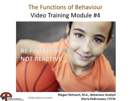 "The ""Functions"" of Behaviour"