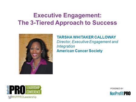 Executive Engagement: The 3-Tiered Approach to Success