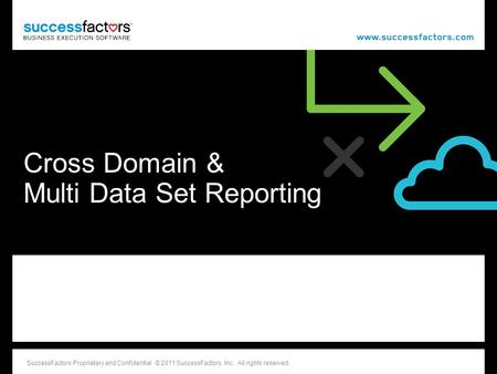 Cross Domain & Multi Data Set Reporting