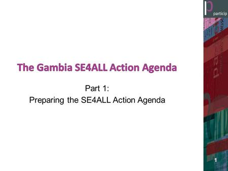 The Gambia SE4ALL Action Agenda