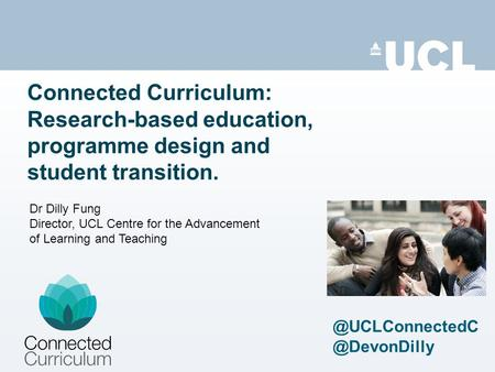 Connected Curriculum: Research-based education, programme design and