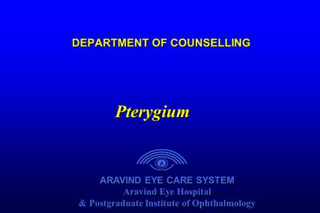 Aravind Eye Care System (AECS)