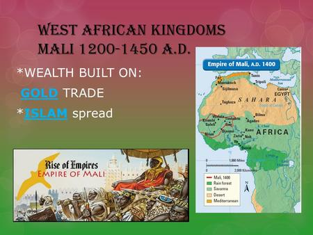 west african kingdoms essay
