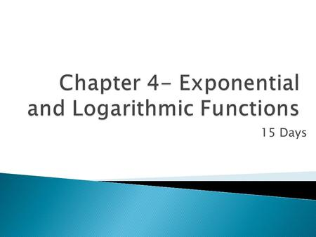 Solve The Compound Interest Formula For T Using Natural Logarithms