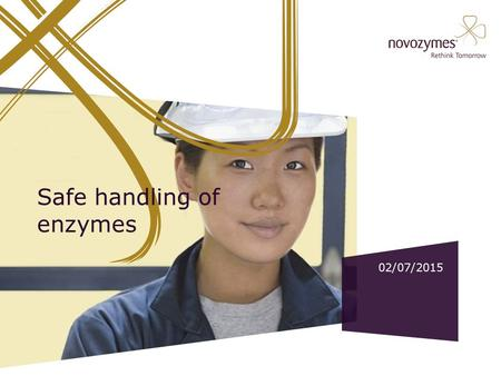 Safe handling of enzymes