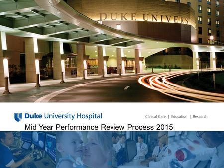 Mid Year Performance Review Process 2015