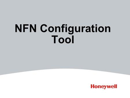 NFN Configuration Tool