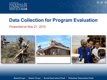 Data Collection for Program Evaluation